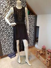 Branded Ladies Women Evening dress in Black Diamond by Julian McDonald Size 14
