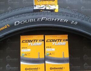 2x Continental MTB Race Reifen Double Fighter III 29x2.00  50-622 2 Schläuche