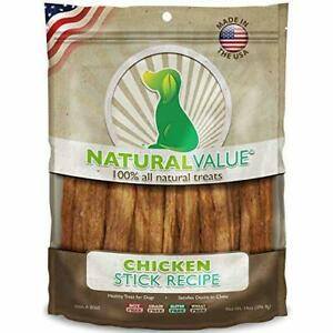 Loving Pets Natural Value All Natural Soft Chew Chicken Sticks For Dogs, 14-Ou..