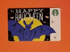 Starbucks Happy Halloween Gift Card Reloadable Empty RARE