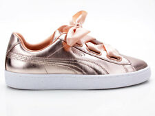 Puma Basket Heart Luxe wn 's 366730 03 bronce-blanco