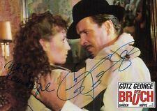 """Götz George Autogramm signed 20x30 cm Kinoaushangbild """"Der Bruch"""""""