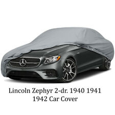 Lincoln Zephyr 2-dr. 1940 1941 1942 Car Cover