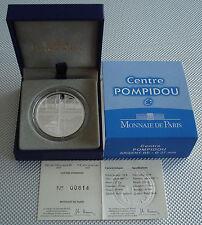 Polierte Platte Münzen Aus Silber Mit Berühmter Persönlichkeit Aus