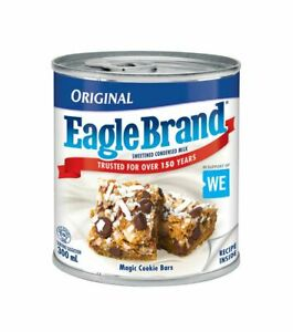 6 X Eagle Brand Sweetened Condensed Milk 300ml EACH - FRESH FROM CANADA