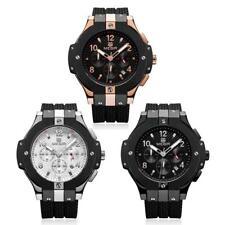 MEGIR Fashionable Business Men Watch Military Alloy Analog Sport Date Wristwatch