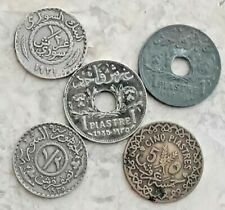 6Pcs. 1921 - 1958 old rare Syrian coins of the World - Asia - history of Syria