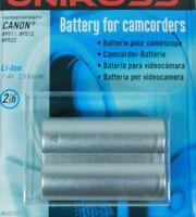 Uniross VB101757D Batterie Li-Ion pour caméscope numérique Canon BP-511 512 522