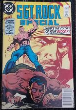 SGT ROCK Special Comic #6 1989 - VG +4.5