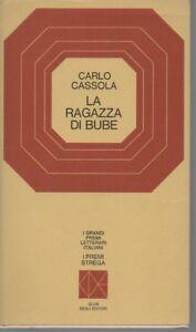 Premio Strega 1960 - La ragazza di Bube - Carlo Cassola - CDE