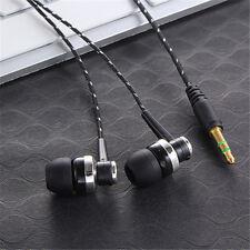 3.5mm In-Ear Stereo Earbud Headphone Earphone Headset Mic for iPhone Samsung HTC