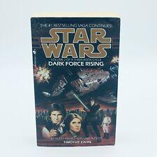 Star Wars - Dark Force Rising - by Timothy Zahn (Paperback, 1993)