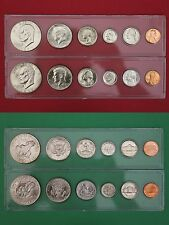 1973 P D Mint Set In Snap Tight Display Cases Uncirculated Flat Rate Shipping