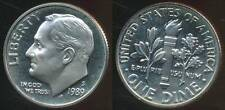 United States, 1989-S Dime, Roosevelt - Proof