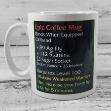 NEW EPIC COFFEE MUG WARGAMING 11 OZ GIFT MUG CUP PRESENT WARGAMES warcraft wow