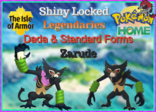 ZARUDE STANDARD & DADA ✨Shiny Locked Bundle✨Sword Shield Pokemon Home IMPORT