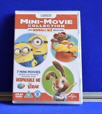 NEW 7 Mini Movie Collection Despicable Me The Lorax Characters (DVD, 2013) (G)