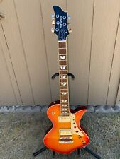 FERNANDES RAVELLE Electric guitar. complete with original case.