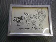 Dujardin vecchia pubblicità con loghi in cornici (350)