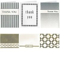 New! Thank you Cards & Envelopes Birthday Wedding Craft Bulk Card 16 Pack