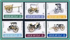 BERMUDA 1991 HORSE CARRIAGES MNH CV$12.80 ** unmounted, SIR