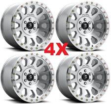 18 Trd Fuel Wheels Rims Vector Diamond Cut Machined Clear Coat 6 Set Fits 2004 Toyota Tundra