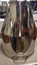 Stainless Steel Milk Can Bucket 65 Lbs Brand New 7 Gallons