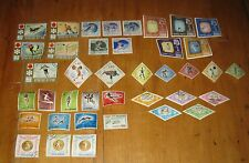 Vintage Olympic Stamps Lot of 39 Pcs. 1972-64-60        FREE SHIPPING