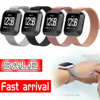 Metal Stainless Steel Replaceme Band For Fitbit Versa & Wrist Strap Magnetic