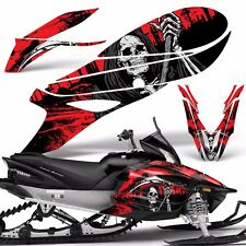 Yamaha APEX Decal Wrap Graphic Kit RTX GT MTX LTX Sled Snowmobile 14-16 REAP RED