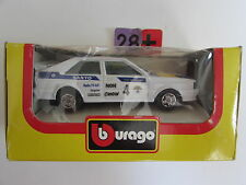 BBURAGO DIE CAST METAL MODEL W/ PLASTIC PARTS FERRARI GTO RALLY SCALE 1:43