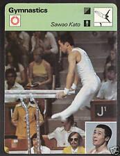 1979 Sawao Kato Gymnastics Sportscaster Olympics Card #88-12
