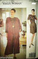 Ms Vogue Woman 8706 UNCUT Pattern Jacket Top Shorts Pants Very Easy Sz 6-8-10