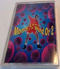 In a Word or 2 * by Monie Love (Cassette, Mar-1993, Warner Bros.) 9-45054-4