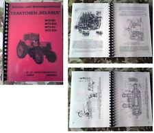 """TRAKTOR """"BELARUS"""" MTS-80 / MTS-82 HANDBUCH,FORTSCHRITT,REPARATURANLEITUNG,IFA"""