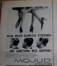 af7f6379ef 1956 Mojud senza Cuciture Calze Something Nice Happens Campagna  Pubblicitaria
