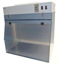 "Portable Laminar Flow Hood- 24"" Width- Static Dissipative PVC"