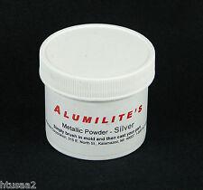 NEW Alumilite SILVER Metallic Powder for Crafts Casting Resin Mold, 1 oz