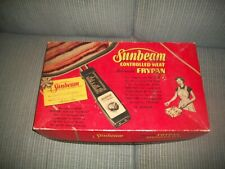 Vtg SUNBEAM*Box Only*for Electric FryPan Controlled Skillet *GREAT STAGE PROP*