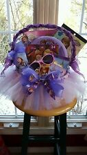 Sofia The First Tutu Gift Basket By Norma's Unique Gift Basket