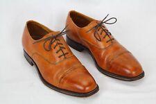 Alfred Sargent British Tan Balmoral US 8.5 Men's Cap Toe Oxfords