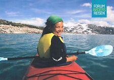 Postcard Germany deportes acuáticos kanu Canoe kayak remo barca paddle boat ak PC D