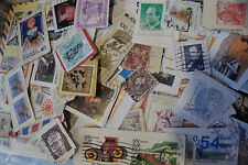 1KG World Charity Kiloware Stamps~on paper~good variety~ UK Seller