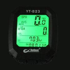 BoGeer Bike Imported Sensor LCD Backlight Bicycle Speedometer Odometer Computer