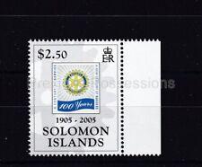 SOLOMON ISLANDS MNH STAMP 2005 ROTARY INTERNATIONAL SG 1151