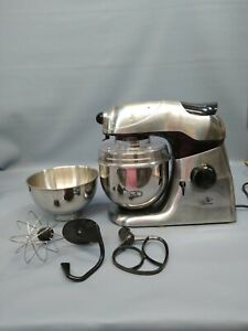 WOLFGANG PUCK Bistro Collection Stand Mixer W/Bowl Shield 3 attachments