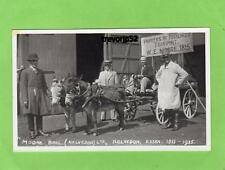 Moore Bros Kelvedon 1815 - 1935 Donkey Cart unused RP pc Ref A635