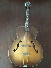 Vintage Kay arch-top hollow body guitar 40s