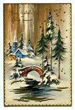 CPSM Fantaisie Fêtes Bonne Année Buon Natale Felice Anno Nuovo