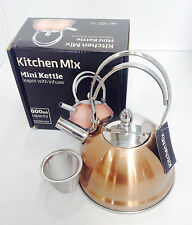 Mini Tea Kettle Pot Infuser Vintage Boil Heat Cook Coffee Tea Stove 0.8L Colour